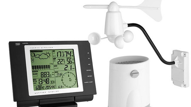 Retrieve data from weather station